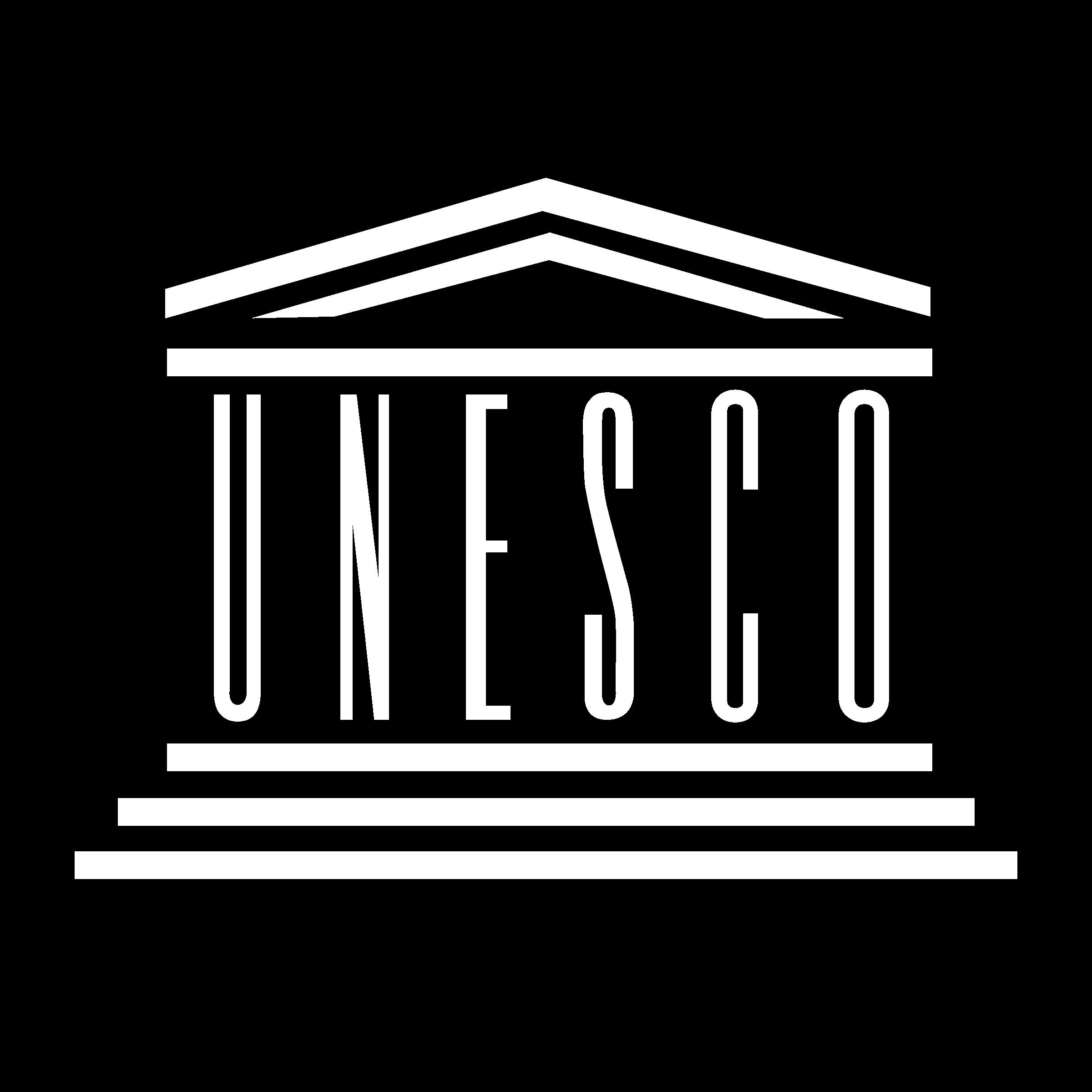Unesco logo black and white